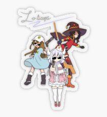 Lolicop Trio Transparent Sticker