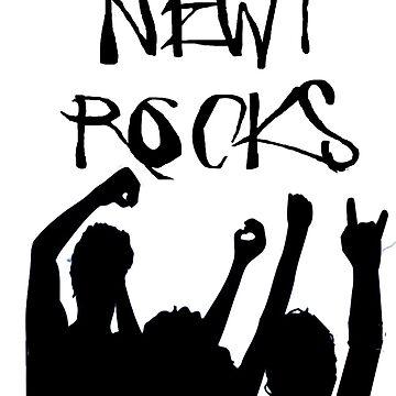 Newy Rocks. by ModernCultureNW