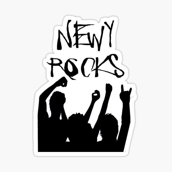 Newy Rocks. Sticker