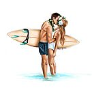 Surf by Elza Fouche
