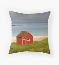 Lofoten Islands, Norway Throw Pillow