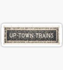Pegatina Trenes Uptown