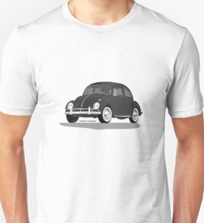VW Beetle Bug Kaefer Black T-Shirt