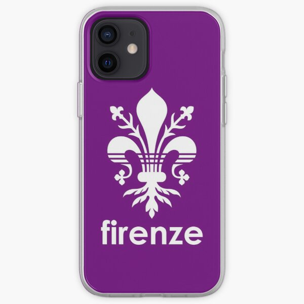 Firenze Fiorentina Viola iPhone Soft Case