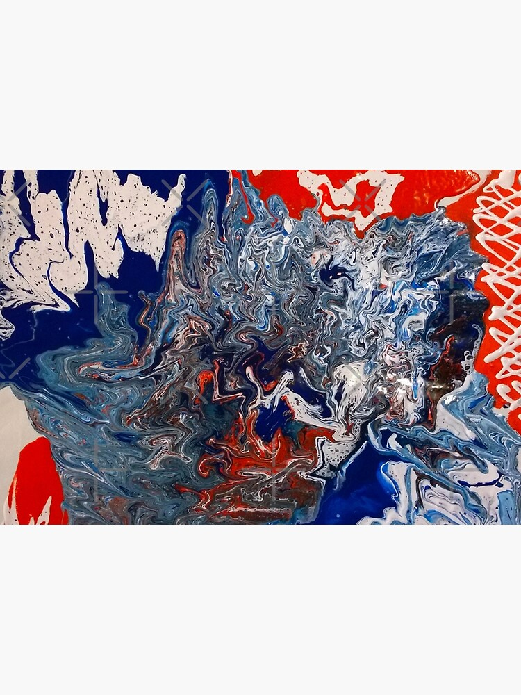 "Abstract Painting- ""British Rocker""  by Matlgirl"