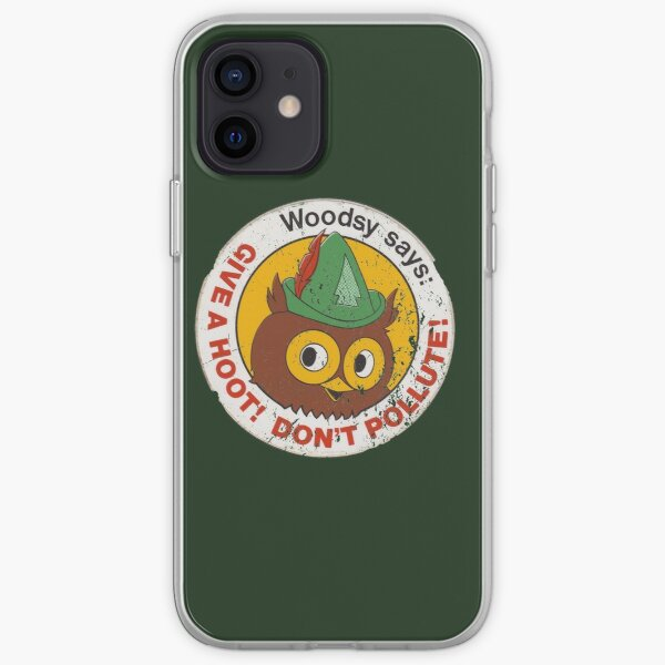 Woodsy Owl 2 iPhone Soft Case