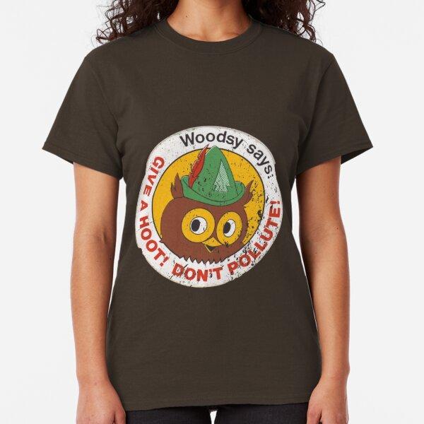 Woodsy Owl 2 Classic T-Shirt