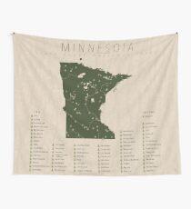Minnesota Parks Wall Tapestry
