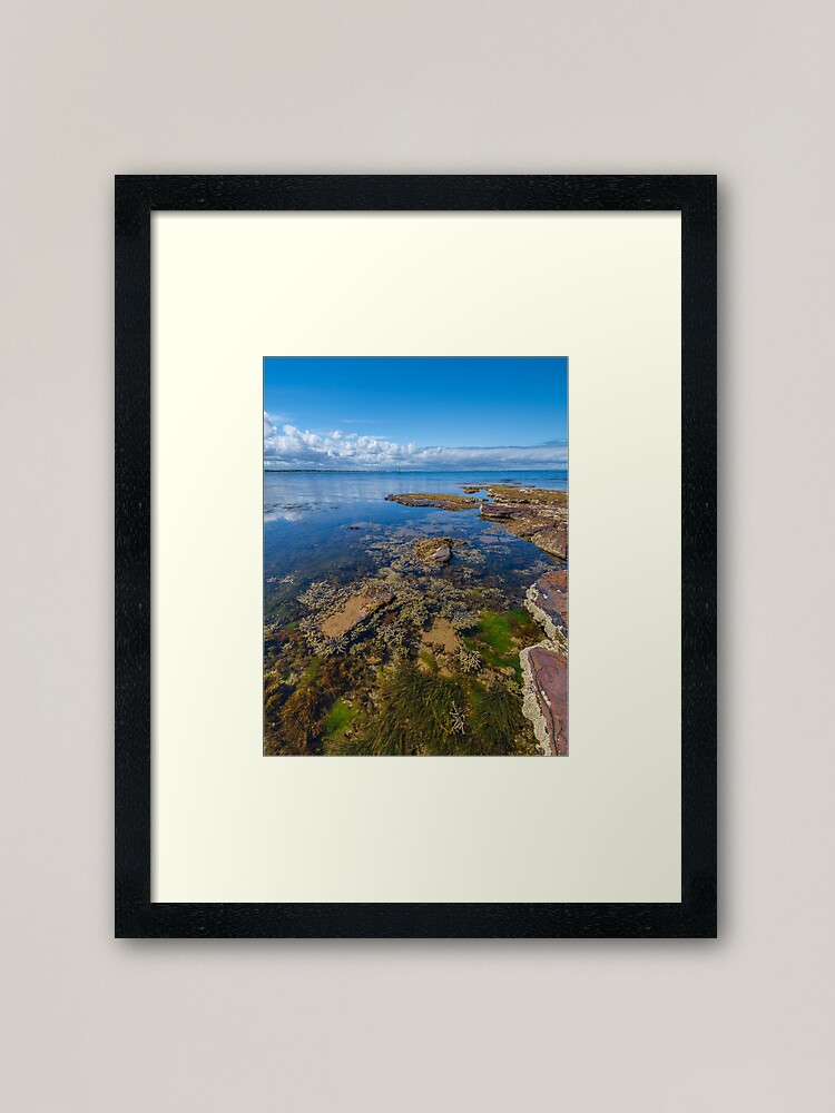 Alternate view of Watkins Bay, Beaumaris Framed Art Print
