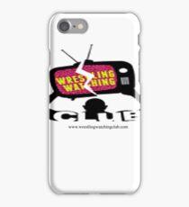 Wrestling Watching Club Logo iPhone Case/Skin