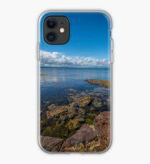 Beaumaris Bay Rocky Shore iPhone Case