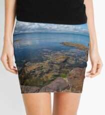 Beaumaris Bay Rocky Shore Mini Skirt