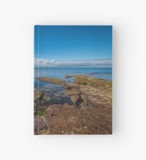 Beaumaris Bay Rocky Shore Hardcover Journal