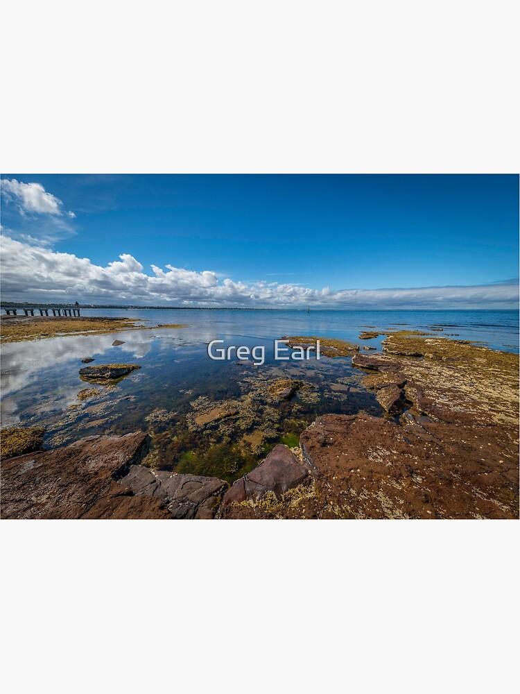 Beaumaris Bay Rocky Shore by GregEarl