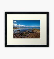 Beaumaris Bay Rocky Shore Framed Print