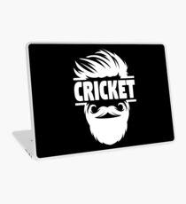 Cricket Batsman - Cricket Picture - Cricket Ball - Father Cricket Gift - Cricket Teacher - Cricket Print - Cricket Dad Gift - Cricket Poster Laptop Skin