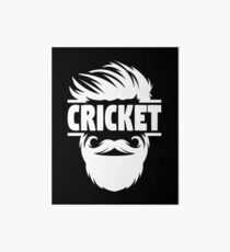 Cricket Batsman - Cricket Picture - Cricket Ball - Father Cricket Gift - Cricket Teacher - Cricket Print - Cricket Dad Gift - Cricket Poster Art Board