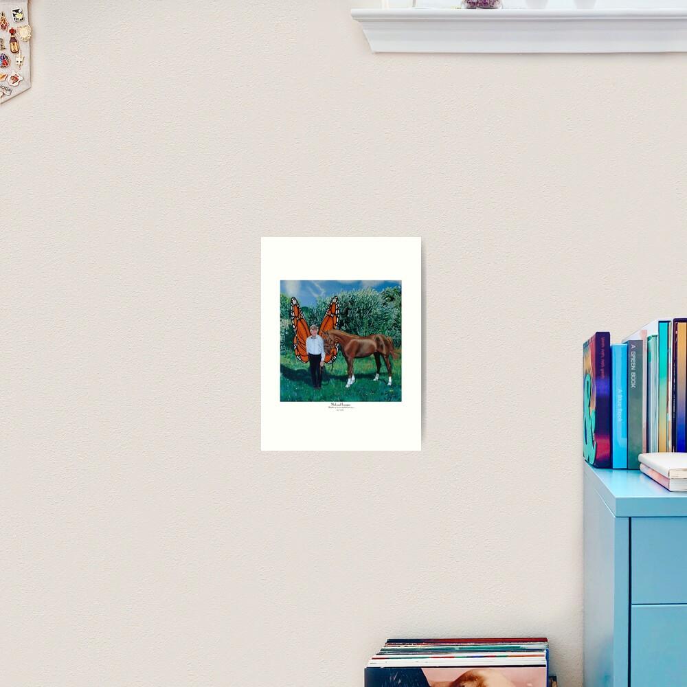 Mick and Trampas Art Print