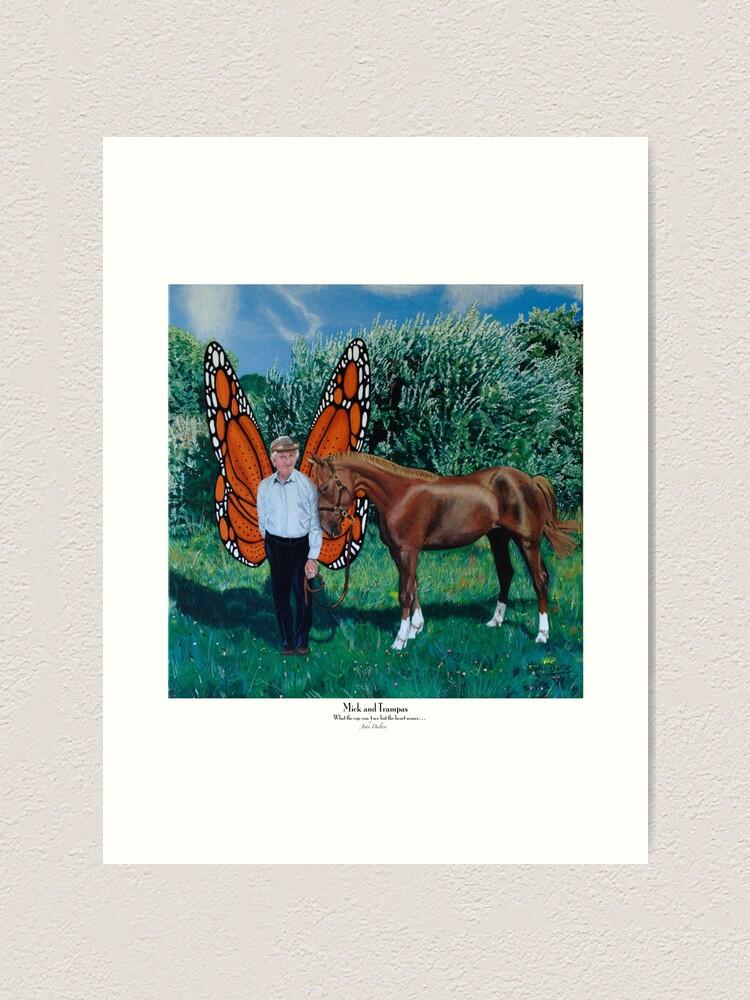 Alternate view of Mick and Trampas Art Print
