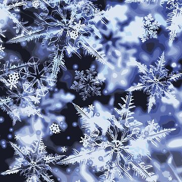 3D Snowflakes by savesarah