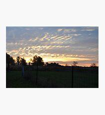 Sunrise 2-10/22/09 Photographic Print