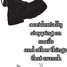 Accidentally Stepping on Snails by Todd Jumper