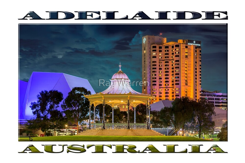 Adelaide at Night (poster edition) by Ray Warren