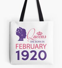 It's My Birthday 98. Made In February 1920. 1920 Gift Ideas. Tote Bag