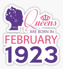 It's My Birthday 95. Made In February 1923. 1923 Gift Ideas. Sticker