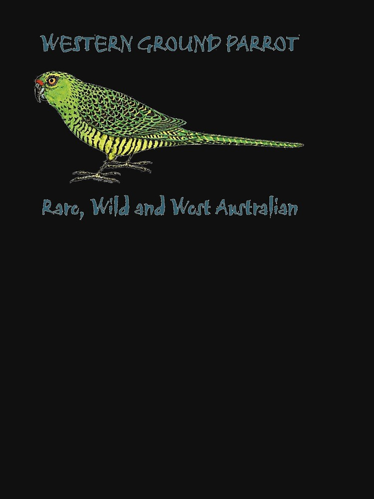 Western Ground Parrot by Wendy Binks by Kyloring