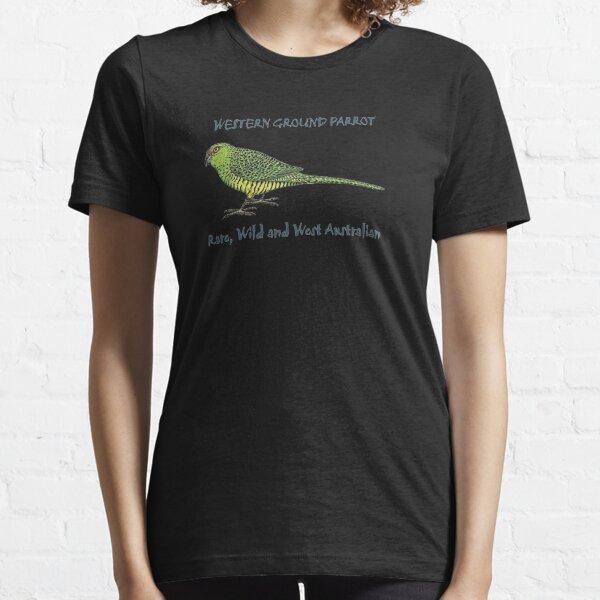 Western Ground Parrot by Wendy Binks Essential T-Shirt