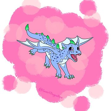 Blueberry the Dragon by IDH-merch