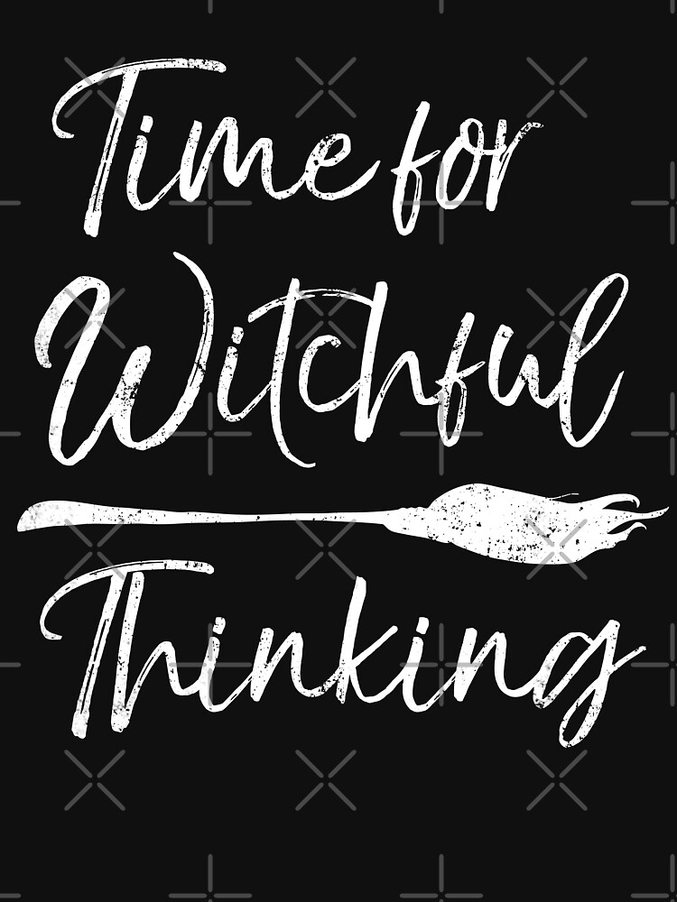 Time for Witchful Thinking Halloween Gift by EcoKeeps