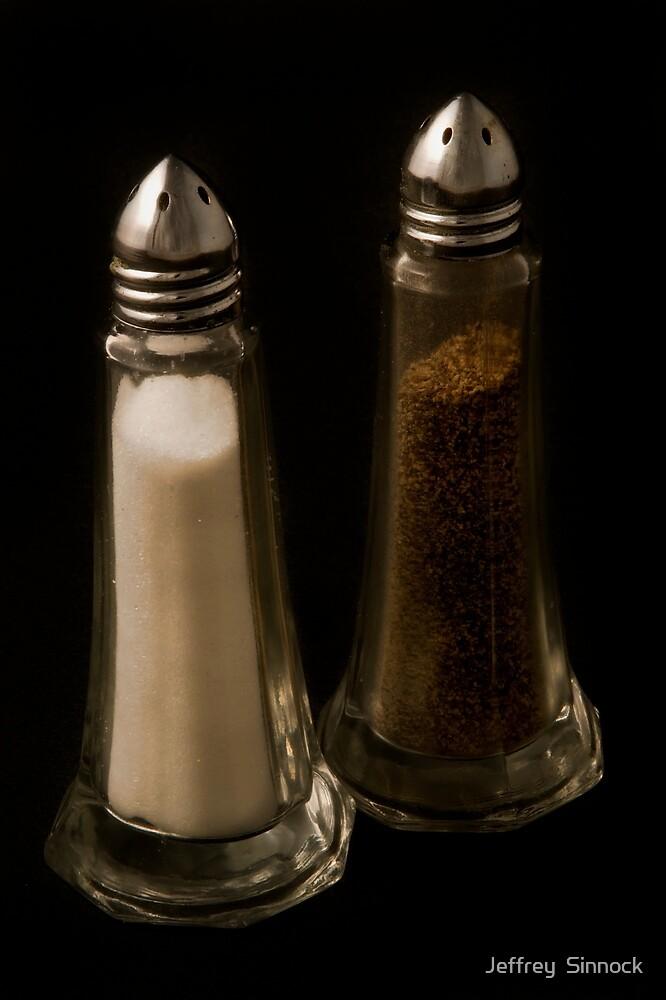 Salt and Pepper shaker by Jeffrey  Sinnock