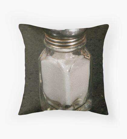 Resturant Salt shaker Throw Pillow