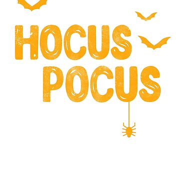 It's Hocus Pocus Time Witches Halloween Gift by EcoKeeps