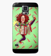 Alfred (Weird Al) Yankovic and Harvey the Wonder Hamster Case/Skin for Samsung Galaxy