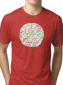 Circle of HeArts  - JUSTART © Tri-blend T-Shirt