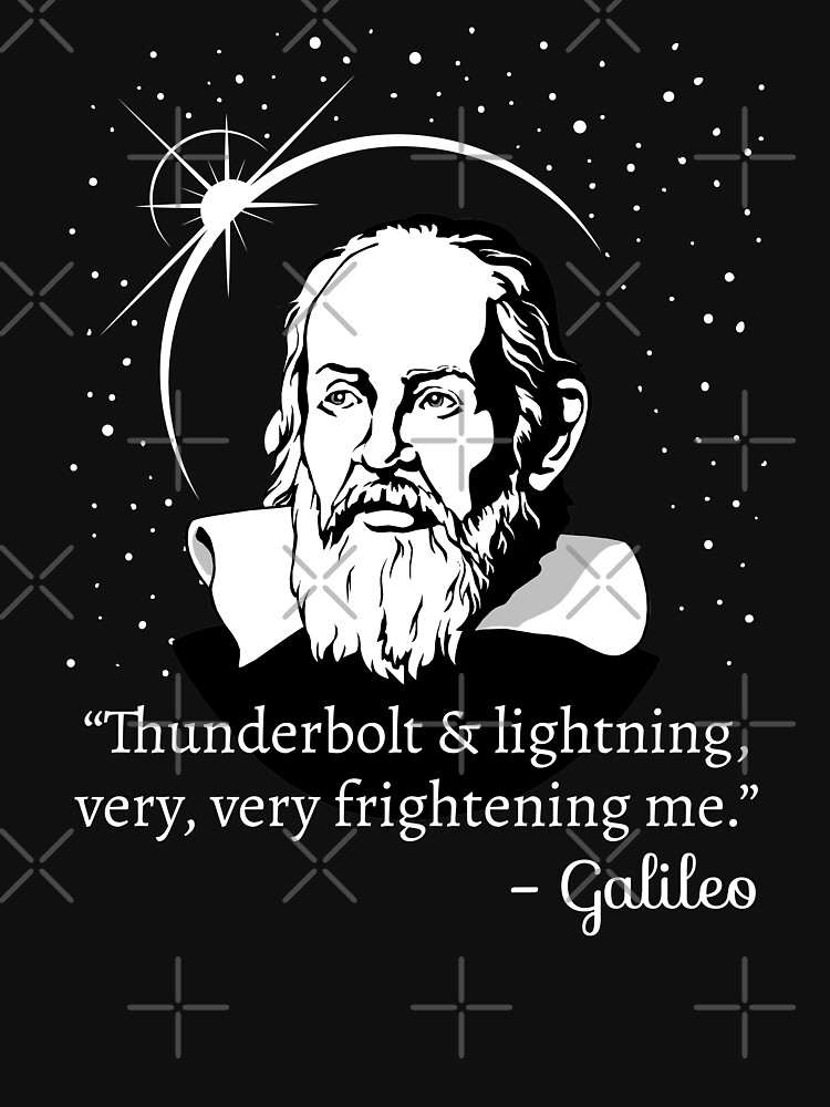 Thunderbolt and Lightning Galileo Graphic by cottonklub