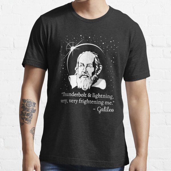Thunderbolt and Lightning Galileo Graphic Essential T-Shirt