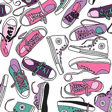 Pastel Pink Kicks by JessicaAmber
