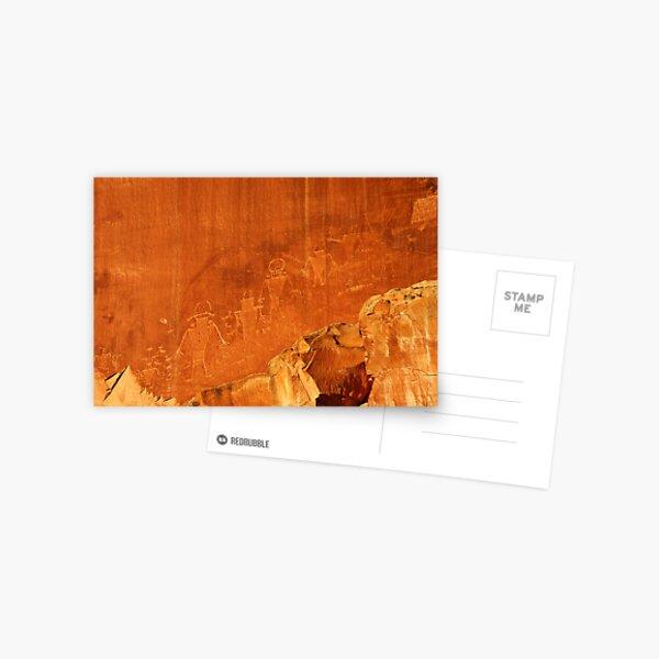Petroglyphs, Capitol Reef  Postcard