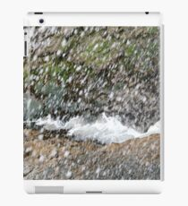 Seaspray seaweed and rocks iPad Case/Skin