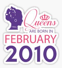 It's My Birthday 8. Made In February 2010. 2010 Gift Ideas. Sticker
