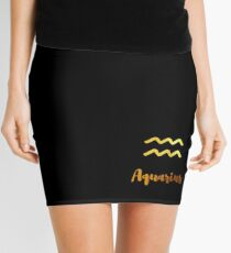 Aquarius Mini Skirt