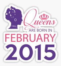 It's My Birthday 3. Made In February 2015. 2015 Gift Ideas. Sticker