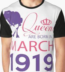 It's My Birthday 99. Made In March 1919. 1919 Gift Ideas. Graphic T-Shirt