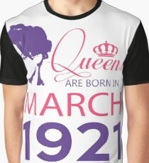It's My Birthday 97. Made In March 1921. 1921 Gift Ideas. Graphic T-Shirt