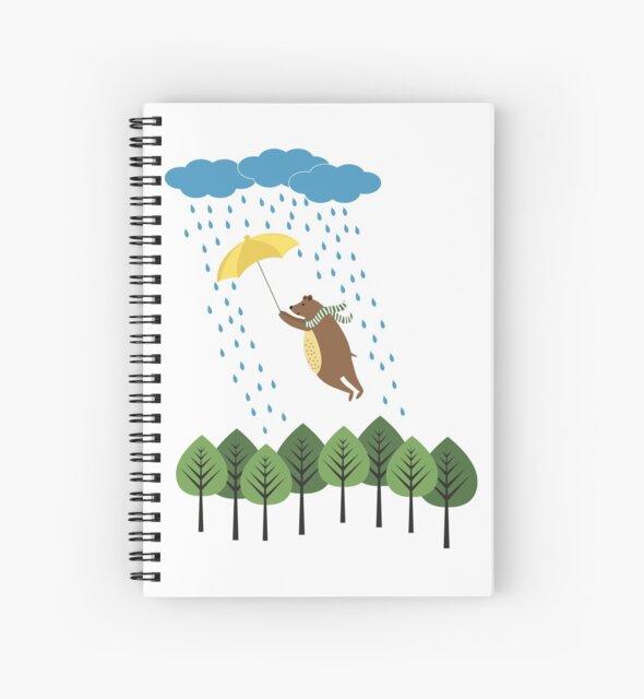 Bear in the rain by grafart