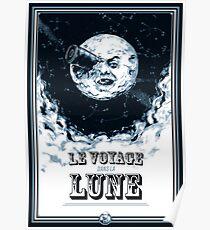 Die Reise zum Mond Poster